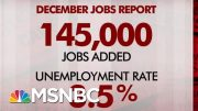 Breaking Down The Last Jobs Report Of The Decade | Morning Joe | MSNBC 4