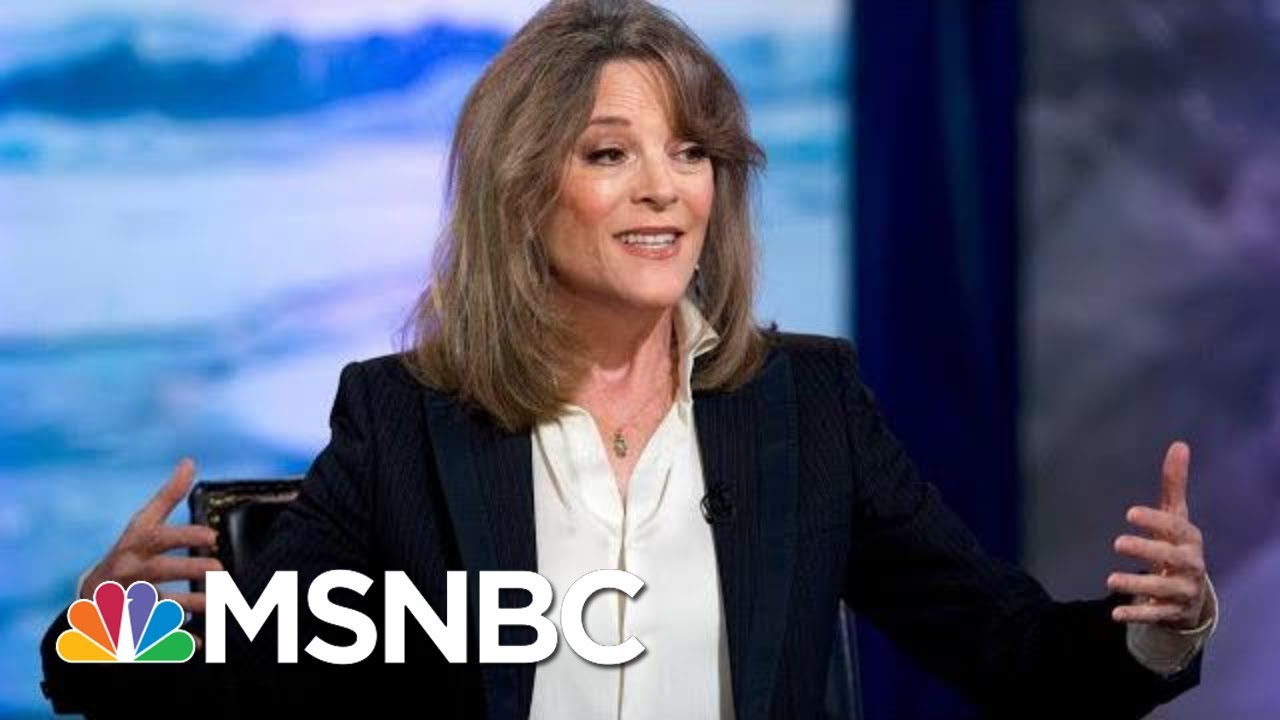 Marianne Williamson Drops Out Of Presidential Race: 'Love Will Prevail' | Andrea Mitchell | MSNBC 1