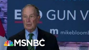 Bloomberg Outpaces All Democrats In Ad Spending | MTP Daily | MSNBC 6