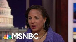 Susan Rice On Soleimani Assassination: White House 'Had No Case For Imminence' | Hardball | MSNBC 8