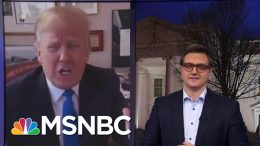 Trump In 2011: A President Could Start A War With Iran For Political Survival | All In | MSNBC 4