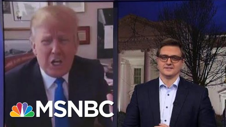 Trump In 2011: A President Could Start A War With Iran For Political Survival | All In | MSNBC 1