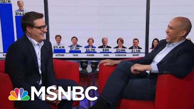 Cory Booker 'Feels Some Kind Of Way' About Billionaires Buying Onto Debate Stage | All In | MSNBC 1