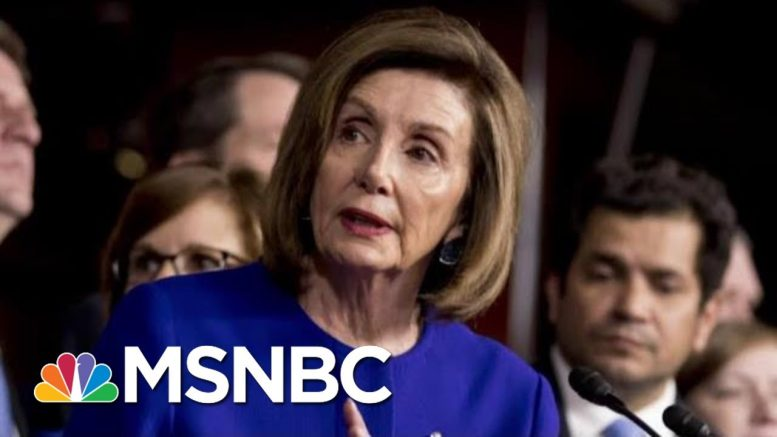 Nancy Pelosi Gets Results By Withholding Impeachment Articles   The Last Word   MSNBC 1