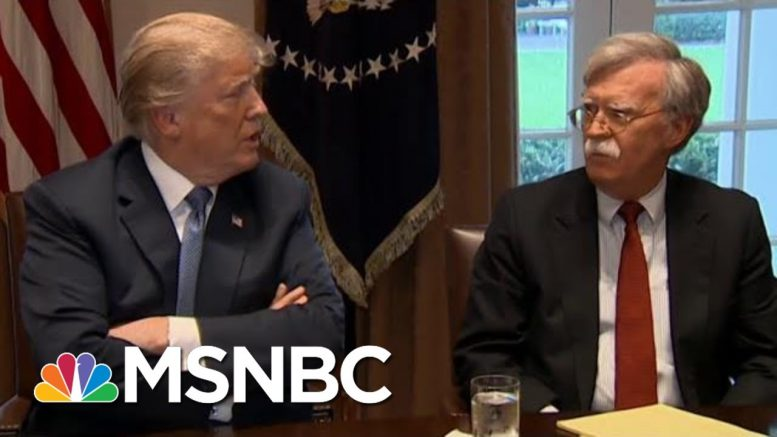 Is Trump Trying To Silence His Former National Security Adviser? | The 11th Hour | MSNBC 1
