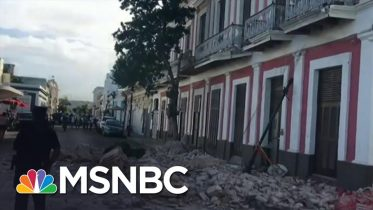 5.9 Magnitude Aftershock Hits Puerto Rico Days After Earthquake | MSNBC 10