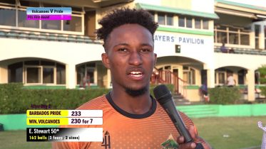 EMMANUEL STEWART speaks on innings 6