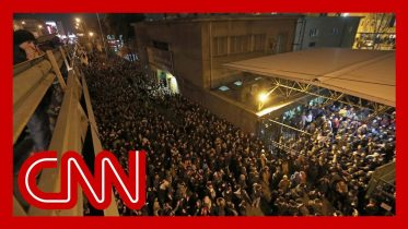 Iran plane crash leads to anti-government protests 1