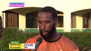 VOLCANOES CRICKET: Shane Shillingford speaks about is 7-fer 6