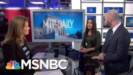 Bernie Sanders Raises $34.5M In Fourth Quarter | MTP Daily | MSNBC 3