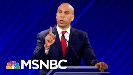 Cory Booker Drops Out Of 2020 Presidential Race | Craig Melvin | MSNBC 8