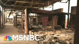 Watch: An Inside Look At What's Left Of Iraqi Air Base Attacked By Iran | MSNBC 5