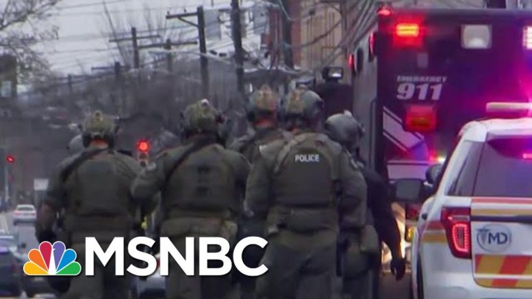 Jersey City Kosher Market Attackers Had Bomb In Van, Officials Say   Velshi & Ruhle   MSNBC 1