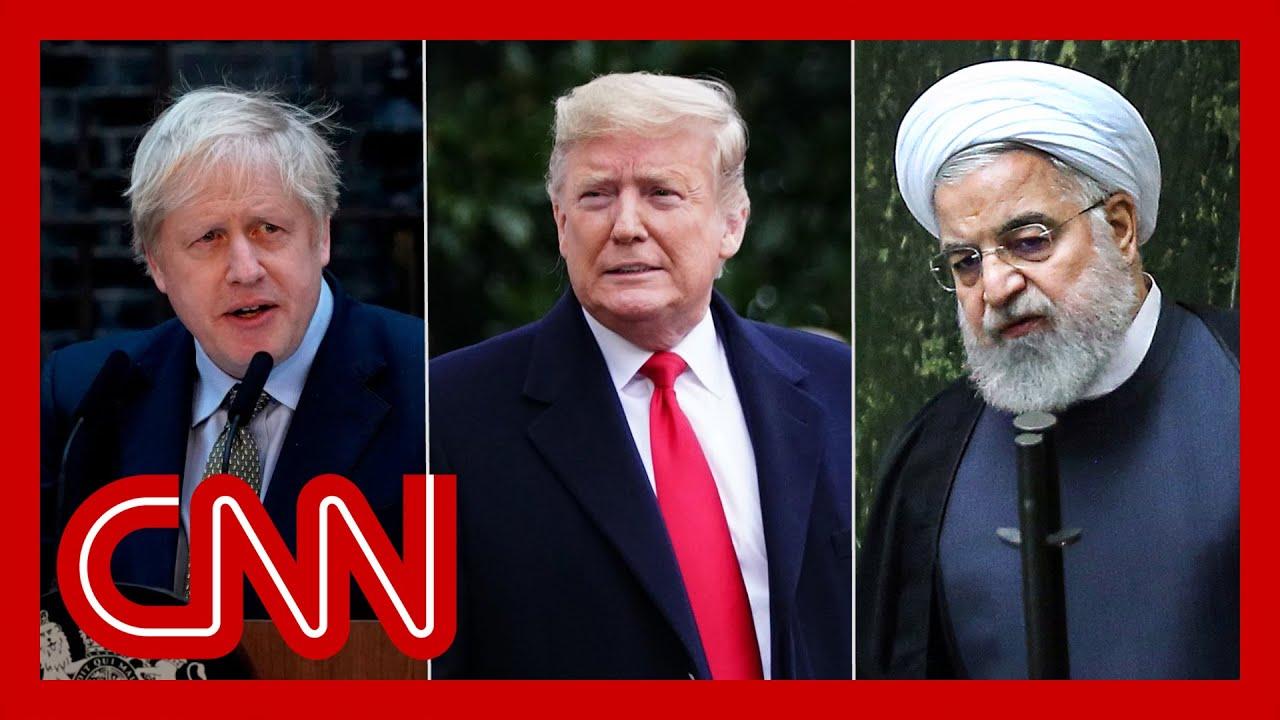 "Boris Johnson says UK needs the ""Trump deal"" in Iran nuclear agreement 6"