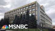 'Looking At Something Pretty Big': Russia Hacked Ukraine Company | The Last Word | MSNBC 3