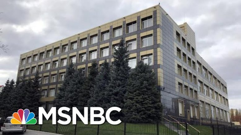 'Looking At Something Pretty Big': Russia Hacked Ukraine Company | The Last Word | MSNBC 1