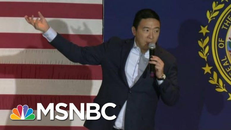 Analysis: Yang's Message Connecting With Men Who Feel Forgotten | Velshi & Ruhle | MSNBC 1