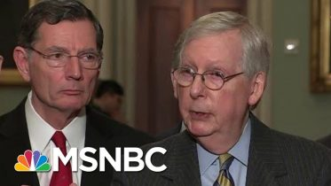 McConnell Says Impeachment Trial Against President Trump Will Begin Next Tuesday | Katy Tur | MSNBC 6