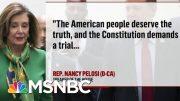 House Set to Vote Tomorrow On Moving Impeachment To The Senate | Deadline | MSNBC 2