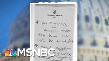 House Democrats Release Additional Evidence In Impeachment Case | MTP Daily | MSNBC 6