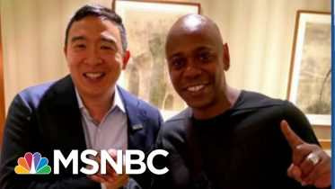 Dave Chappelle Enters 2020 Fray: 'I'm Yang Gang!' | The Beat With Ari Melber | MSNBC 6