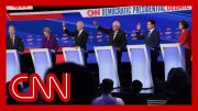 2020 Democratic presidential candidates clash on health care 3
