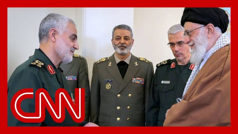 Iran condemns US airstrike that killed top commander as 'foolish' 1