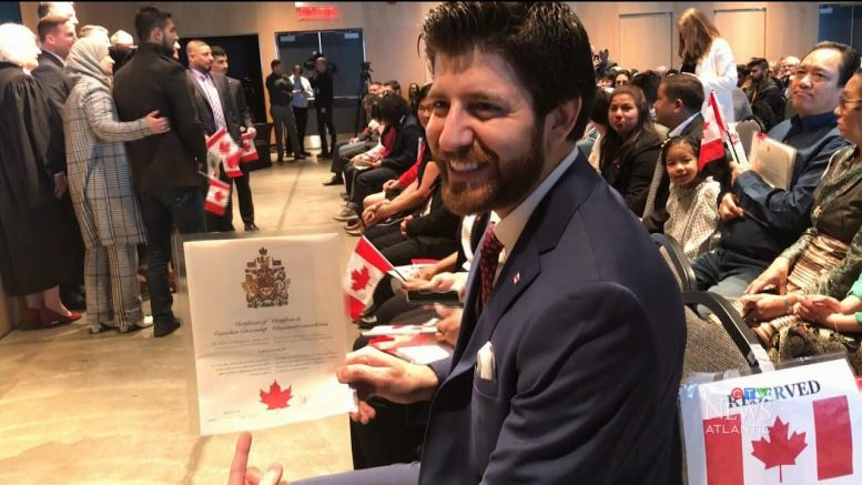 'My home by choice': Syrian refugee chocolatier becomes a Canadian citizen 1