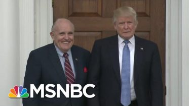 Rudy Rejection?: Trump Insiders Warn Boss As Giuliani Eyes Trump's Impeachment Defense Team | MSNBC 5