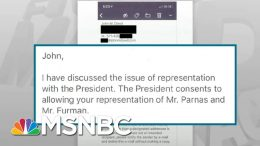 Shocking New Evidence Released In Trump Impeachment Case - Day That Was | MSNBC 8
