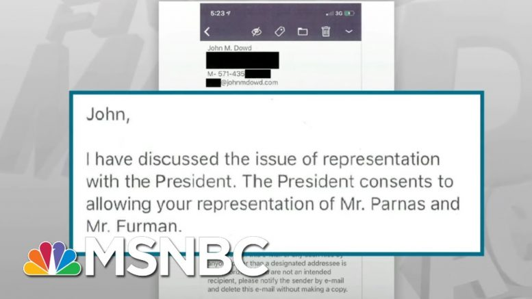Shocking New Evidence Released In Trump Impeachment Case - Day That Was | MSNBC 1