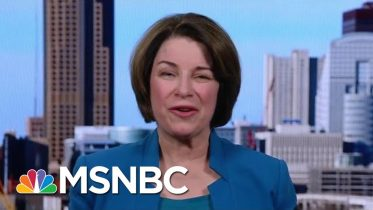 Klobuchar: I Am Someone Who Gets Things Done | Morning Joe | MSNBC 6