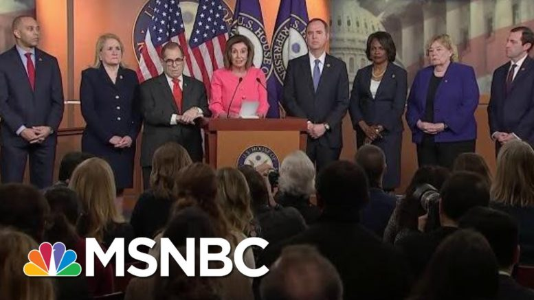 Pelosi Announces The Seven Impeachment Managers Who Will Prosecute The Case Against Trump | MSNBC 1