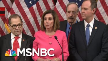 Nancy Pelosi Speaks Before Delivering Articles Of Impeachment To The Senate | MTP Daily | MSNBC 6