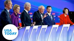 Democratic candidates make their case at Des Moines debate | USA TODAY 3