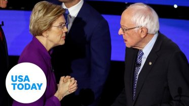 Can a woman win the presidency? Bernie Sanders answers on the debate stage | USA TODAY 10
