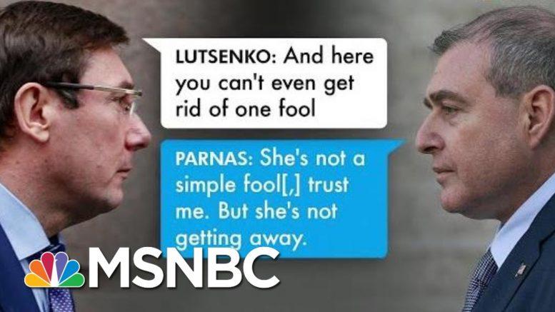 Ukraine prosecutor Offered Dirt On Biden In Exchange For Firing Of U.S. Ambassador | All In | MSNBC 1