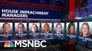 House Dems Send Impeachment Charges To Senate | The 11th Hour | MSNBC 4