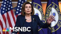 Nancy Pelosi: Parnas Interview Shows Barr Was 'Implicated' In Effort To Withhold Ukraine Aid | MSNBC 9