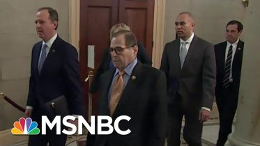 Articles Of Impeachment Officially Delivered To The Senate | MSNBC 6