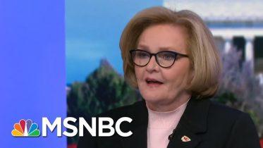 Claire McCaskill Explains The Importance Of The Senate Floor's 'Ghostwriter' | MSNBC 4