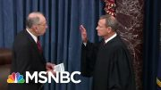Chief Justice John Roberts Swears In For Trump Impeachment Trial | MSNBC 2