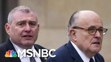 Lev Parnas Implicates Trump And Top Officials In Ukraine Pressure Campaign | Deadline | MSNBC 10