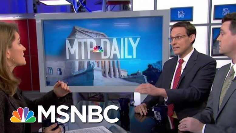 Panel: 'You Can Take [McSally] Off List' Of GOP Who Might Side With Democrats | MTP Daily | MSNBC 1