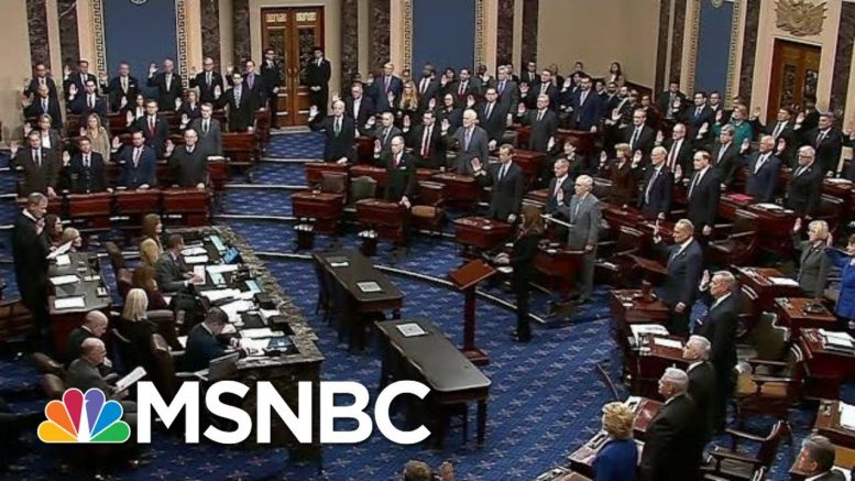 'High Crimes': See The Moment Trump Officially Gets Put On Trial | The Beat With Ari Melber | MSNBC 1