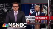 New Unredacted Emails Contain 'Clear Direction From POTUS To Hold: Report | All In | MSNBC 4