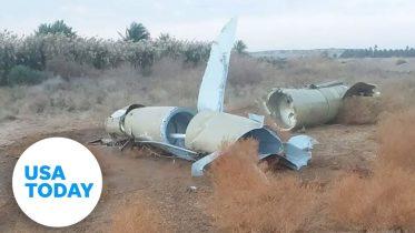 Video shows two Iranian missiles hitting Ukrainian plane | USA TODAY 6