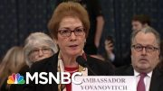 Lev Parnas Describes How Trump Struggled To Fire Amb. Yovanovitch | Rachel Maddow | MSNBC 5
