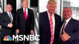 Trump Now Says He Doesn't Know Lev Parnas. He's Pulled This Trick Before. | The 11th Hour | MSNBC 7