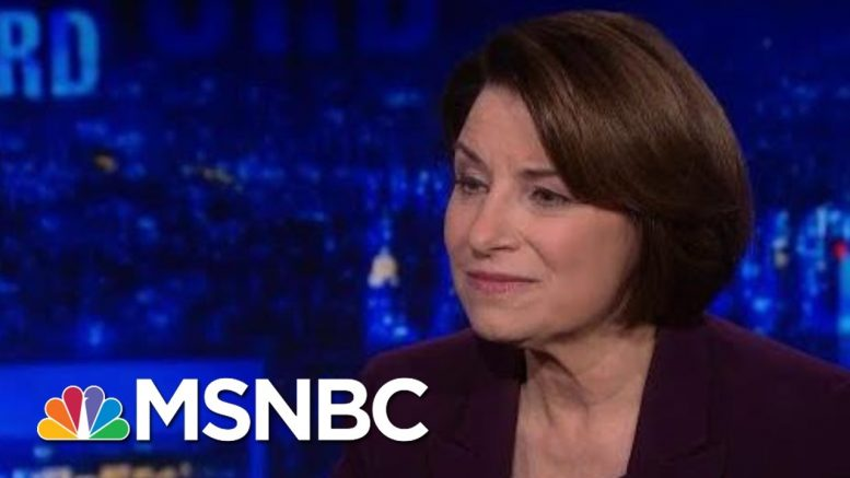 Sen. Amy Klobuchar: Senate Must Hear From Witnesses | The Last Word | MSNBC 1